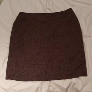Worthington women's skirt, brown. Size 14.